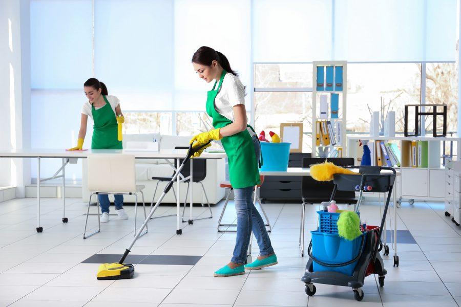 รับทำความสะอาดออฟฟิศ